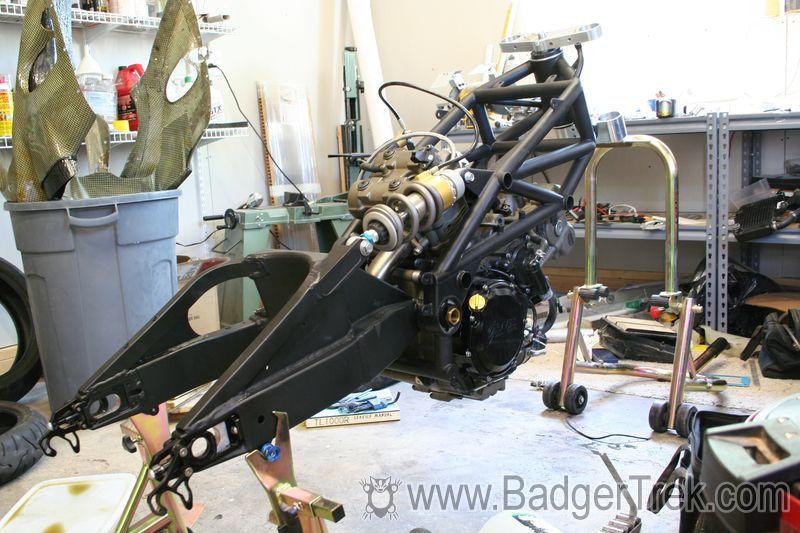 Badgertrek Homebuilt Sportbike