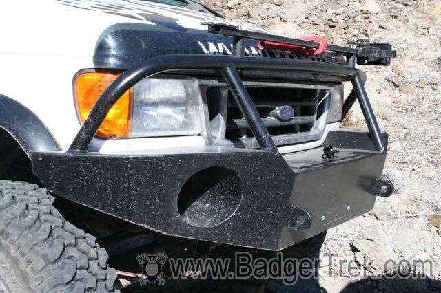 BadgerTrek Aluminess Off Road Van Bumpers