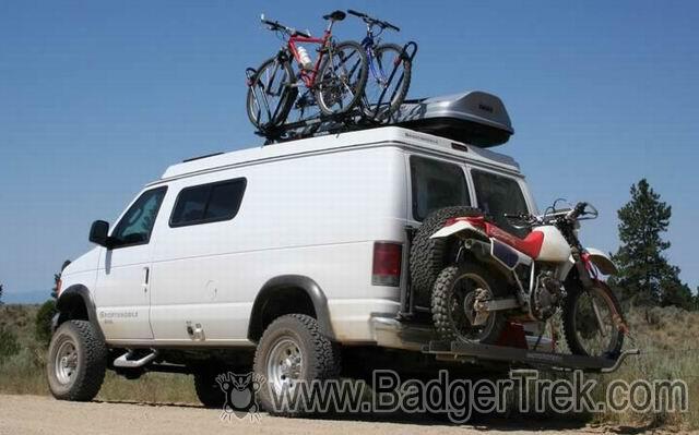 BadgerTrek: The Badgermobile (Sportsmobile)