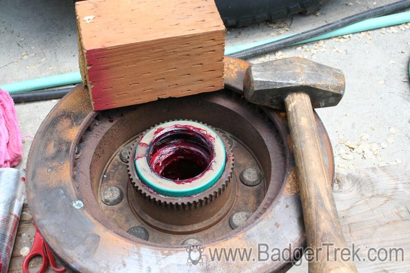 BadgerTrek: Repacking Dana 60 Wheel Bearings