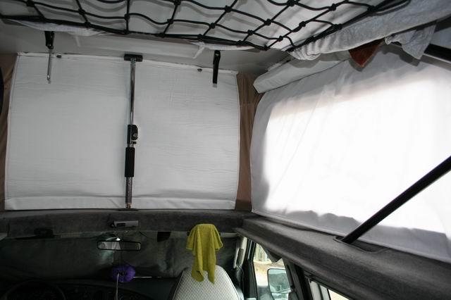 Badgertrek Sportsmobile Interior